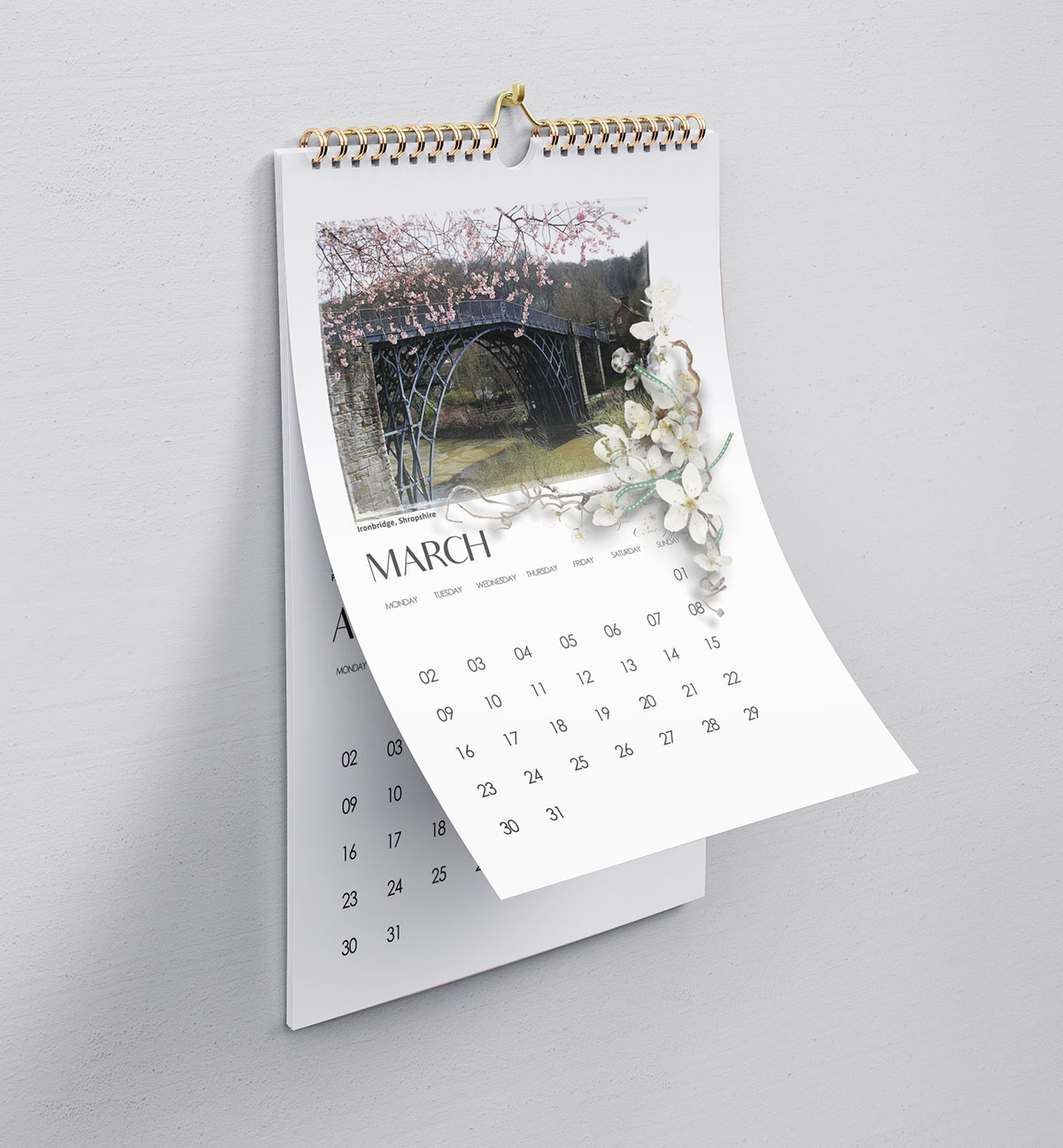 Example of a beautiful calendar